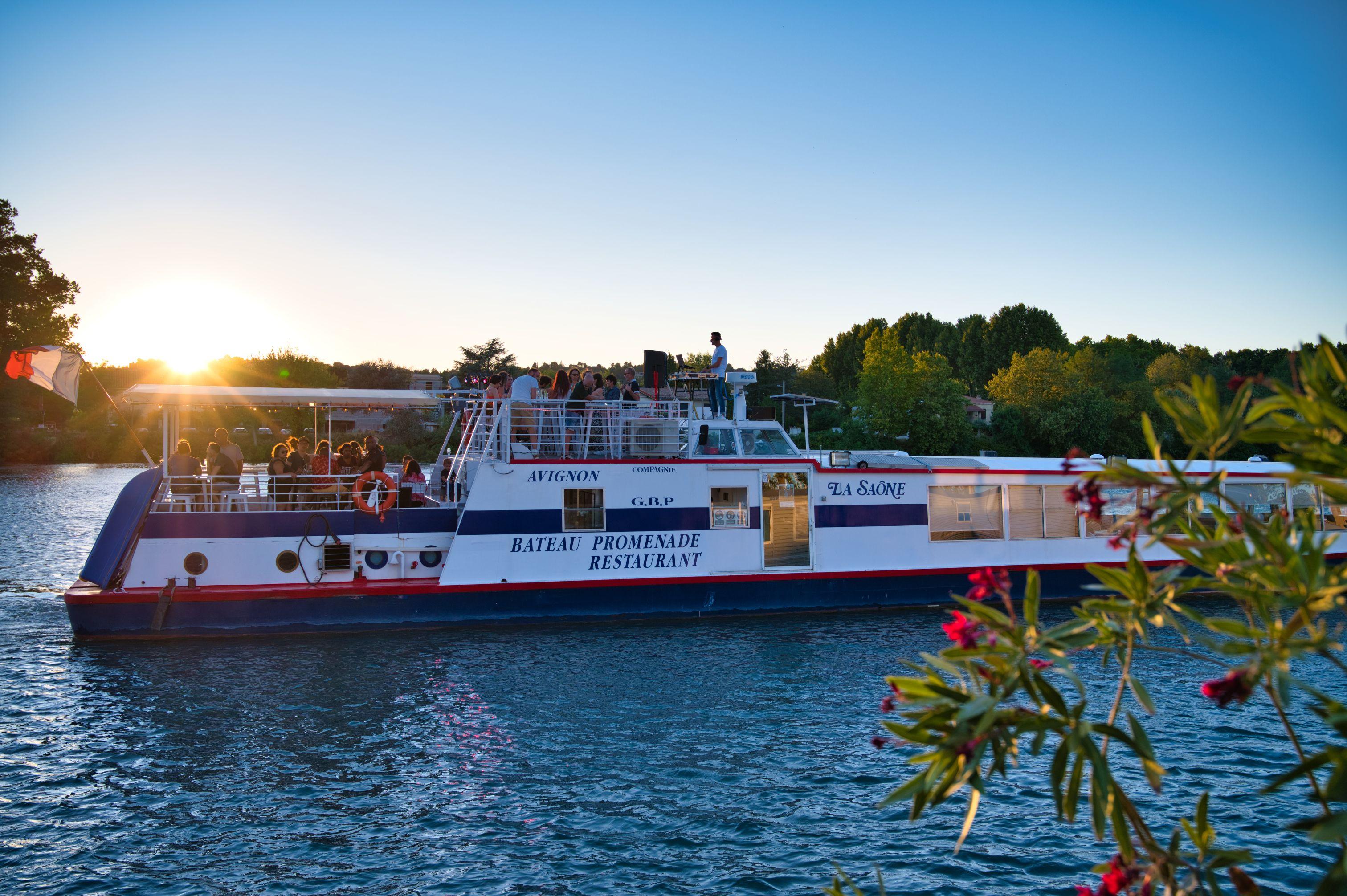 Le Saône bateau promenade