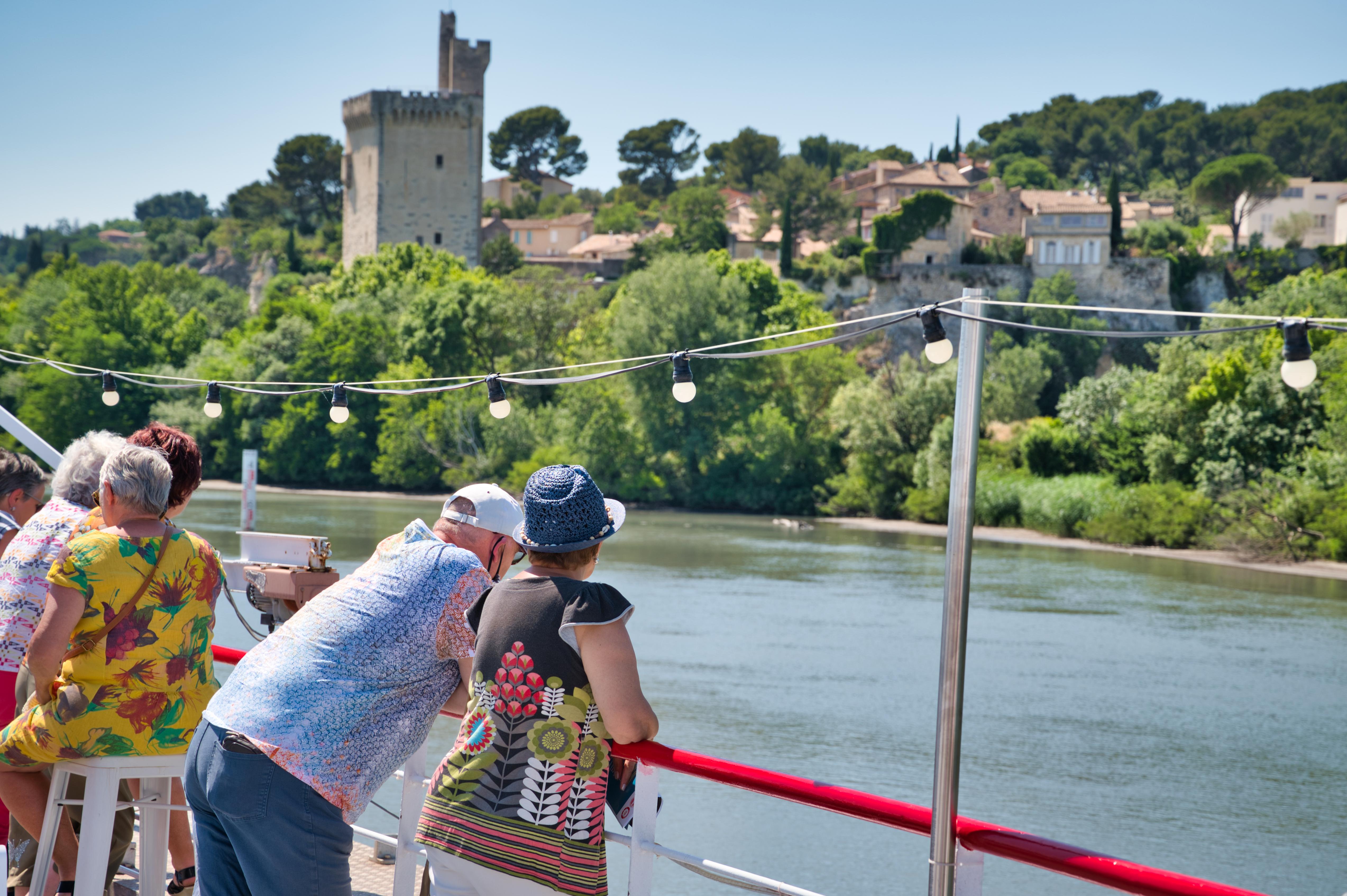 Le bateau promenade Le Saône