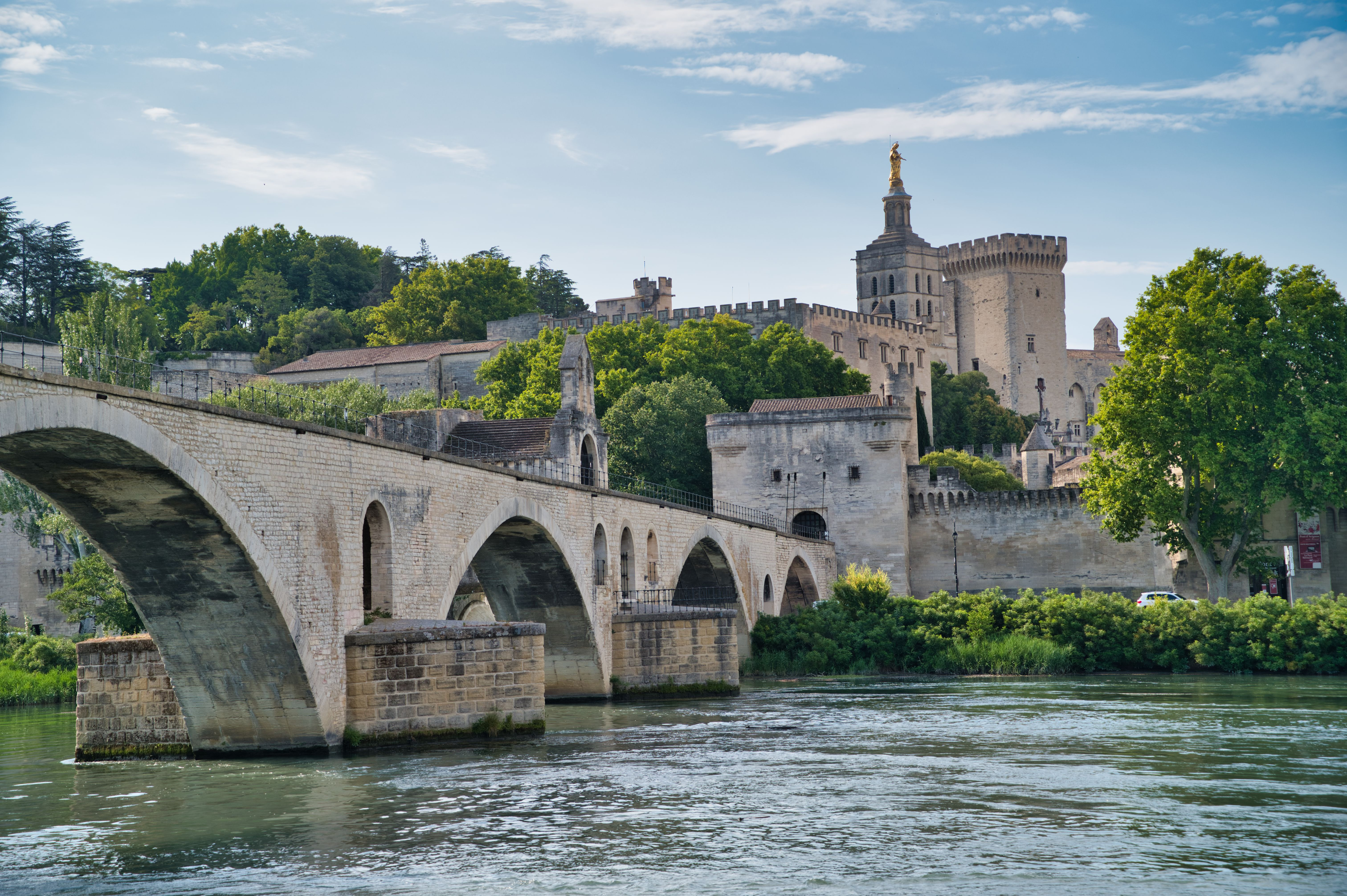 Le Pont St Bénézet à Avignon